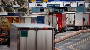 Der Handel mit Großbritannien verliert an Bedeutung