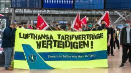 Lufthansa bricht Verhandlungen mit Bodenpersonal ab