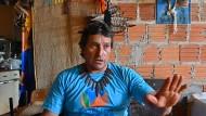"""Nelson Alves da Silva, Liderança """"Die Drogen kamen von den Mühlen zum Stamm."""""""