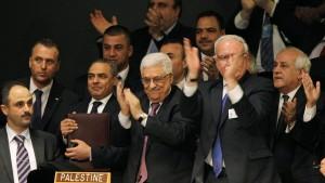 UN erkennen Palästina als Beobachterstaat an