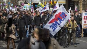 24-stündiger Streik in Griechenland