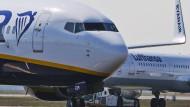 Gute Kunden: Billigflieger wie Ryanair und Premium-Carrier wie Lufthansa sorgen gemeinsam für gute Zahlen bei Fraport.