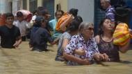 Anhaltende Überflutungen