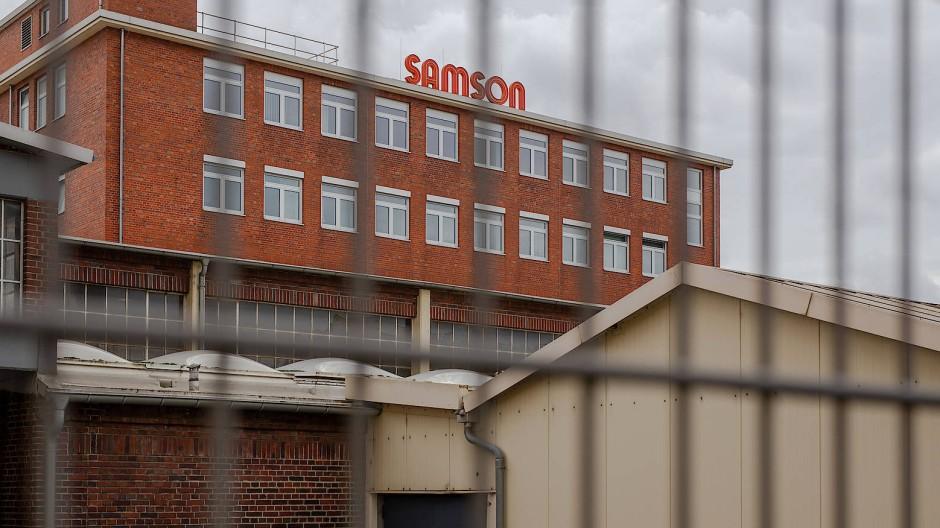 Einer der größten Arbeitgeber Frankfurts: Der Ventilehersteller Samson mit mehr als 2000 Beschäftigten.