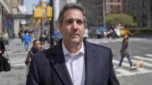 Trumps Ex-Anwalt nahm Gespräch heimlich auf