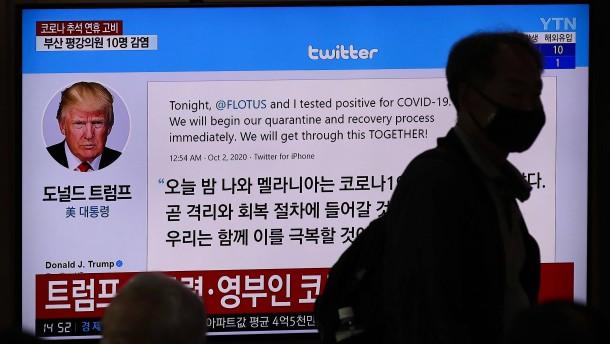Twitter will Todeswünsche an Trump löschen