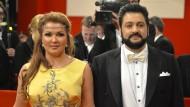 Anna Netrebko und ihr Ehemann, der aserbaidschanische Opernsänger Yusif Eyvazov