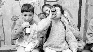 Die Schulmilch und die Eltern