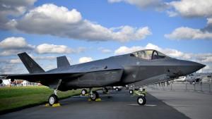 F-35-Kampfflugzeug muss am Boden bleiben