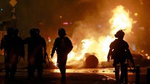 Zusammenstöße bei Demonstrationen in Rumänien