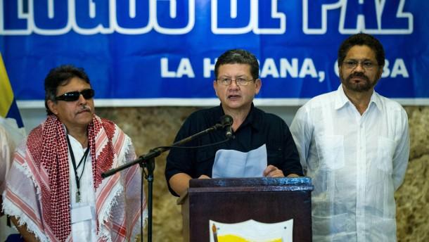 Guerrilla in Kolumbien verkündet einmonatigen Waffenstillstand