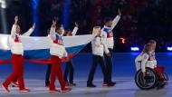 Russisches Team von Paralympics ausgeschlossen