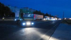 Merkel: Konvoi muss nach Entladung sofort zurückfahren