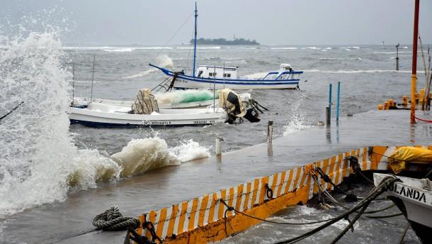 Acht Tote und schwere Überschwemmungen in Mexiko