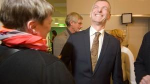 Erstmals ein Parteiloser als Landrat