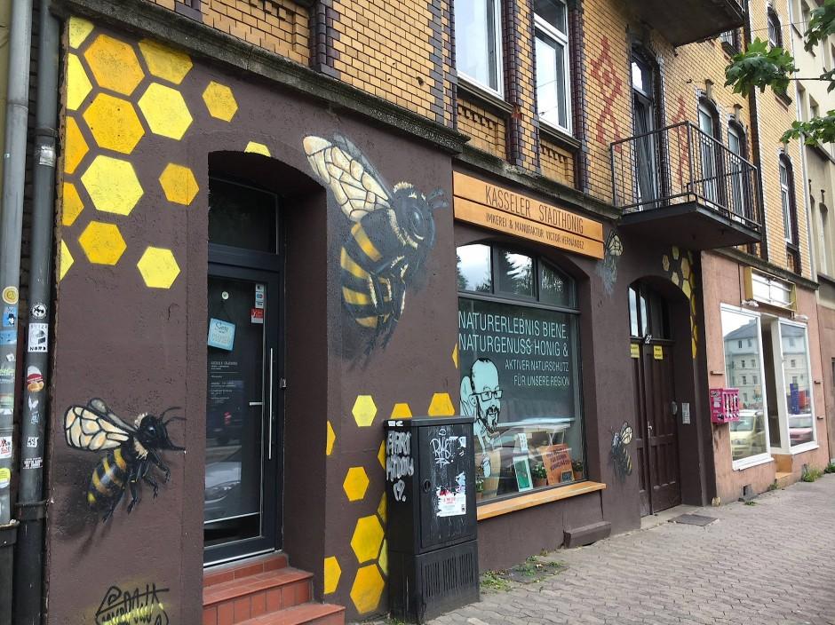 Aus dem Internetcafé Halit Yozgats ist inzwischen ein Honigladen geworden.