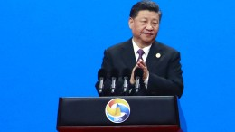 """Xi Jinping wirbt für """"Neue Seidenstraße"""""""