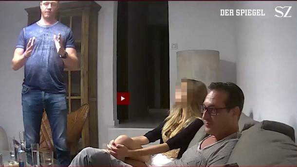Österreichische Polizei sucht nach Frau aus Ibiza-Video