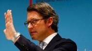 """""""Eigentorschütze"""": Verkehrsminister Andreas Scheuer wehrt sich in einer Erklärung gegen die Kritiker der Gesetzesänderung"""