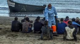 Junge Senegalesen hoffen auf bessere Zukunft