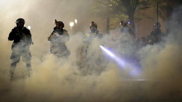 Bundespolizisten sollen aus Portland abziehen