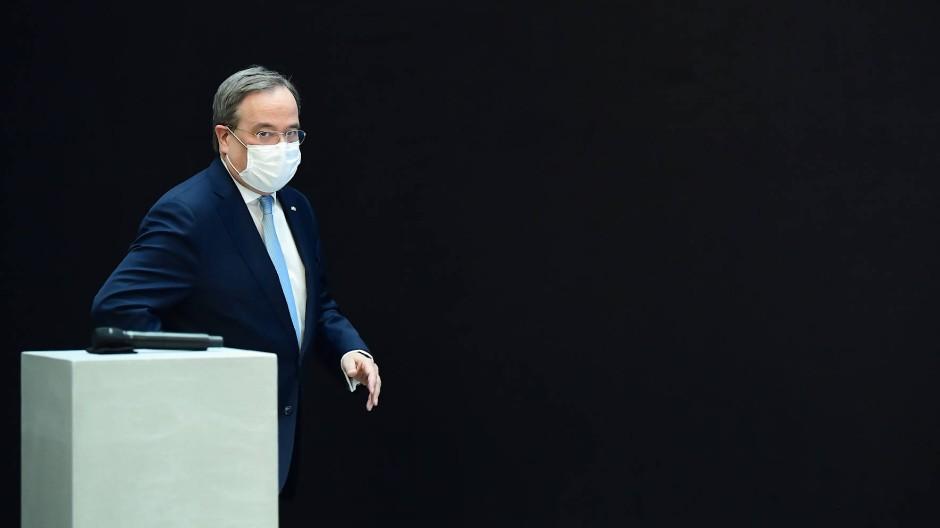 Noch auf der Suche nach der richtigen Linie: CDU-Chef Armin Laschet