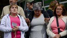 Beten für die Besatzung des U-Boots San Juan