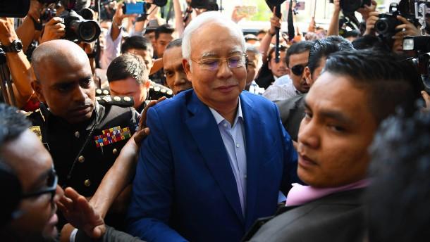 Malaysias ehemaliger Regierungschef festgenommen