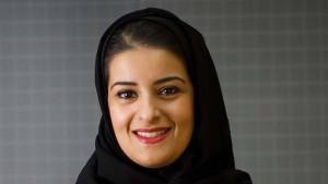 Die Präsidentin der Börse in Riad