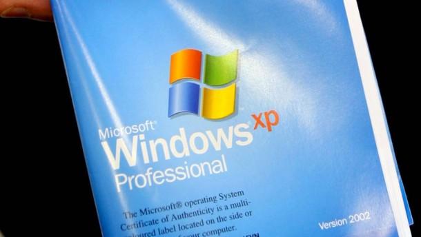 Microsoft verstößt Windows XP