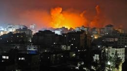 Massive Raketen-Angriffe auf Tel Aviv, Luftschläge gegen Hamas-Führer