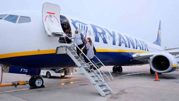 Ryanair: Wir verhandeln nicht