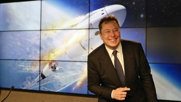Elon Musk stichelt nach Raketenstart gegen Russland