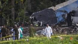 111 Tote nach Flugzeugabsturz in Kuba