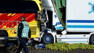 Zwei Menschen sterben bei dem Lastwagenunfall in dieser Woche auf der A3 bei Limburg