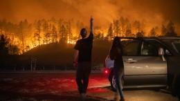 Historisches Ausmaß der Brände in Kalifornien