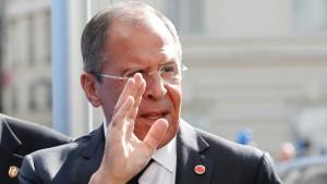 Lawrow: Westen handelt wie im Kalten Krieg