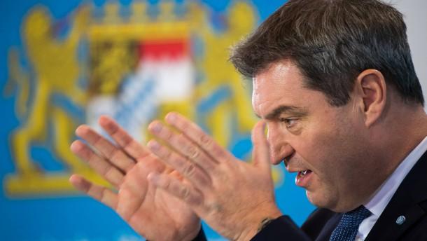 Söder will der SPD eine Denkpause geben