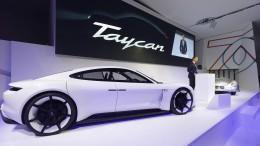 Porsche erlebt einen Run auf den Taycan