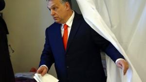 Wahl in Ungarn lief nicht fair ab