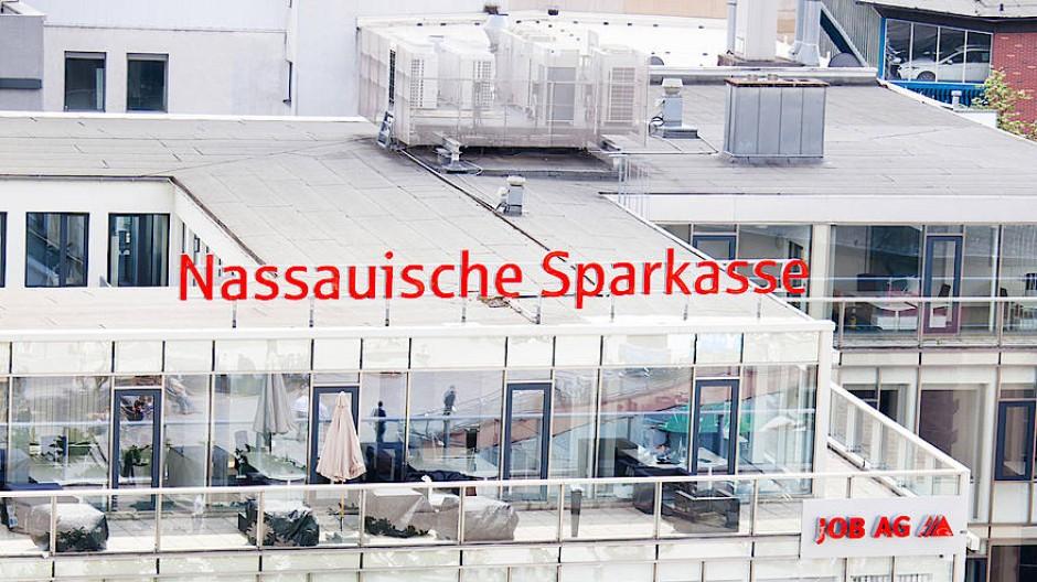 Filiale der Nassauischen Sparkasse in Frankfurt