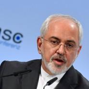 Irans Außenminister Mohammed Dschawad Zarif auf der 54. Münchner Sicherheitskonferenz