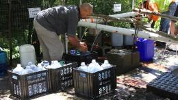 Nur noch 50 Liter Wasser pro Person und Tag