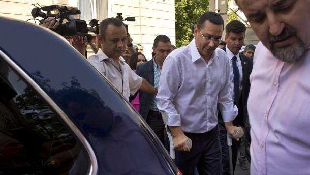 Ermittlungsverfahren gegen Viktor Ponta