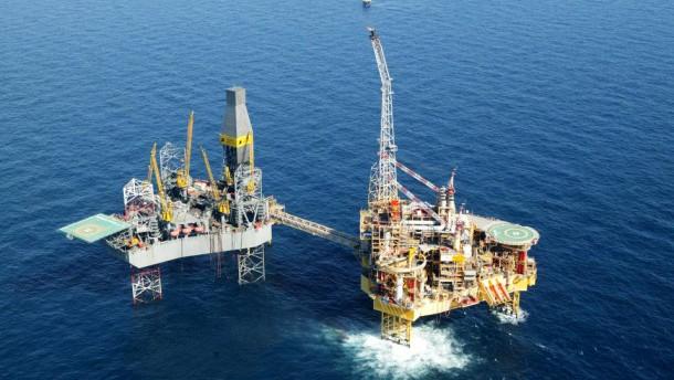 Unfall auf Erdgas-Plattform in der Nordsee
