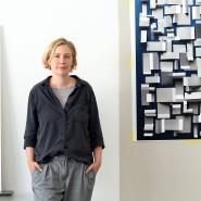 Fläche und Raum: Christiane Feser in ihrem Atelier an der Frankfurter Hohenstaufenstraße