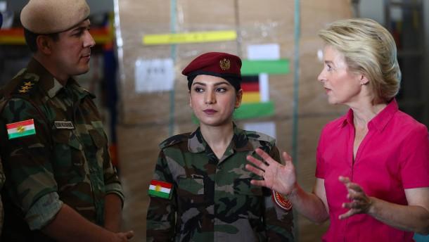 Weitere Hilfe für kurdische Peschmerga-Kämpfer im Irak