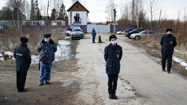 Russische Polizei verschärft Sicherheitsmaßnahmen