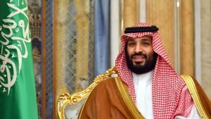 Saudischer Kronprinz warnt vor weiterer Eskalation