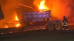 Mutmaßlicher Brandanschlag in Chile